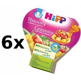 HiPP Těstoviny s rajčaty a cuketou - 6x250g