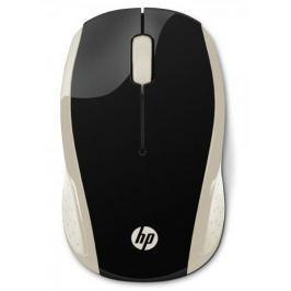 HP 200 bezdrátová myš, zlatá (2HU83AA) Produkty