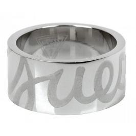 Guess Prsten s nápisem USR80903 (Obvod 54 mm)