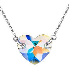 Evolution Group Náhrdelník Srdce 32021.2 krystal ab stříbro 925/1000