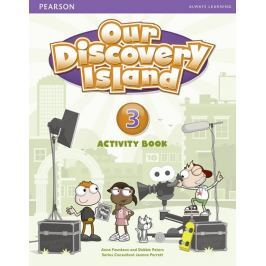 Peters Debie: Our Discovery Island  3 Activity Book and CD ROM (Pupil) Pack