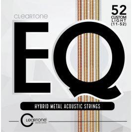 Cleartone EQ 52 Custom Light Kovové struny pro akustickou kytaru