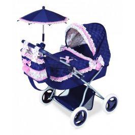 DeCuevas Kočárek pro panenky s deštníkem
