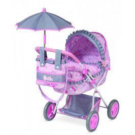 DeCuevas Hluboký kočárek pro panenky s deštníkem