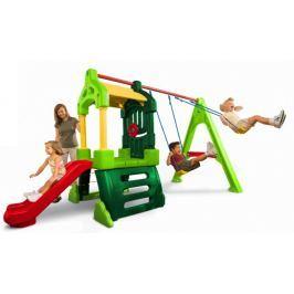 Little Tikes Hrací centrum Clubhouse Swing Set Natural - rozbaleno