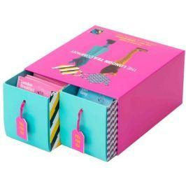 London Tea Company Fairtrade dárková sada mix černých sáčkových čajů DUO pack 50 ks 2 příchuti