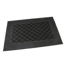 FLOMAT Gumová vstupní kartáčová rohož Squares - Rectangle - 60 x 40 x 0,7 cm