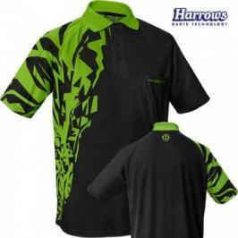 Harrows Košile Rapide - Black & Green Košile, trička, čepice