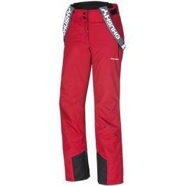 Husky Brita červená S Lyžařské kalhoty