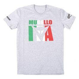 Dainese pánské triko MUGELLO D1 vel.S šedá