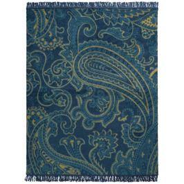 Biederlack Dark Velvet Dark Paisley 150x200 cm Deky
