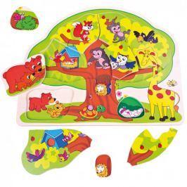 Bino Puzzle veselá zvířátka Didaktické