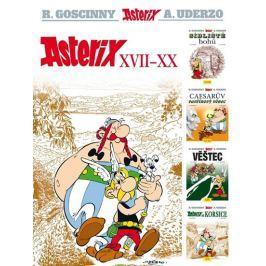 Goscinny R., Uderzo A.,: Asterix XVII - XX Komiksy