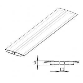 LanitPlast Polykarbonátový H-profil 4 mm 6 m Montážní prvky
