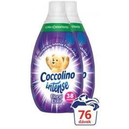 Coccolino Intense Floral Elixir aviváž 2 x 570 ml (76 praní) Aviváže
