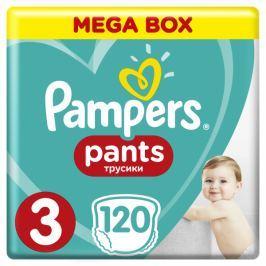 Pampers Plenkové kalhotky ActivePants 3 Midi Mega Box 6-11kg,120 ks
