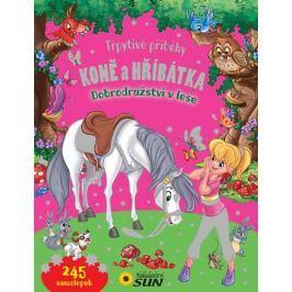 Koně a hříbátka - Dobrodružství v lese - Třpytivé příběhy