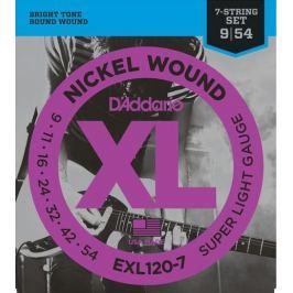 Daddario EXL120-7 Struny pro sedmistrunnou elektrickou kytaru