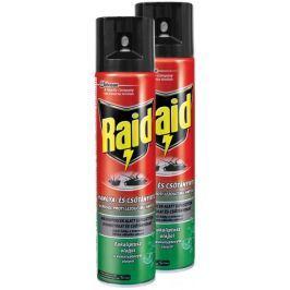 Raid sprej proti lezoucímu hmyzu s eukalyptovým olejem 2x400 ml