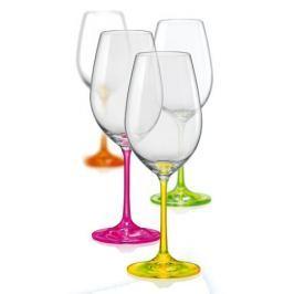 Crystalex sklenice na víno Neon 350 ml, 4 ks