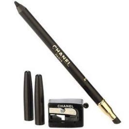 Chanel Tužka na oči s ořezávátkem Le Crayon Yeux (Precision Eye Definer) 1 g (Odstín 01 Noir )