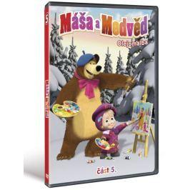 Máša a medvěd 5: Olejomalba   - DVD