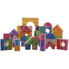 Alltoys Pěnové kostky 100ks dřevěný design