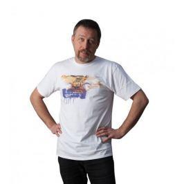 KlokArt pánské tričko Gildan Soft 64000 bílá M