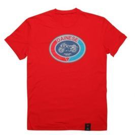 Dainese pánské triko MOTO 72 vel.L červená