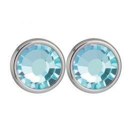 Preciosa Náušnice Carlyn s krystalem Aqua 7235 67