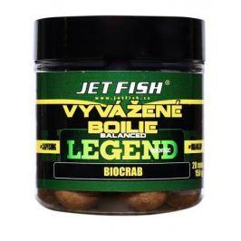 Jet Fish Vyvážené Boilie Legend Range 130 g 20 mm bioliver-ananas/n-butyric