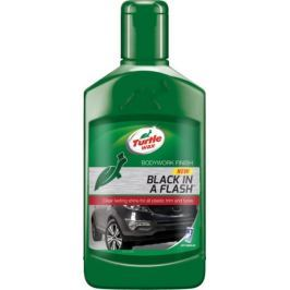 Turtle Wax Lesk pro plasty exteriérů, Black In A Flash, 300 ml