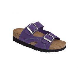 Scholl Zdravotní obuv MOLDAVA WEDGE AD - fialová/mátová (Velikost vel. 41)