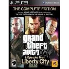 Grand Theft Auto IV: The Complete Edition (PS3)