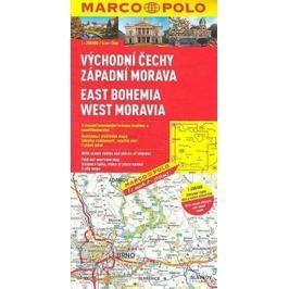 Východní Čechy,záp. Morava/mapa