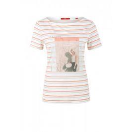 s.Oliver dámské tričko 34 smetanová
