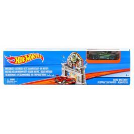 Hot Wheels Hrací souprava ohromný skok Robo Wrecker