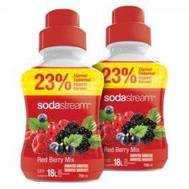 Sodastream Příchuť Red Berry 2x 750 ml