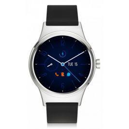 TCL MOVETIME Smartwatch, stříbrná/černá