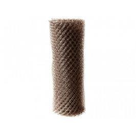Čtyřhranné pletivo Zn+PVC (s ND) - výška 160 cm, hnědá, 25 m