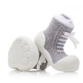 Attipas chlapecké botičky Sneakers Gray 19 šedá