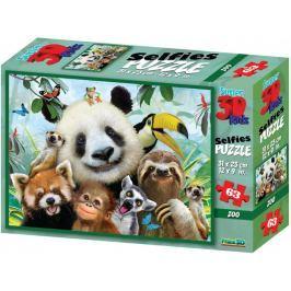 Lamps 3D Puzzle Panda 63 dílků