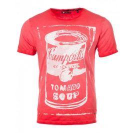 Pepe Jeans pánské tričko Glow M červená