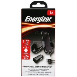 Energizer Set nabíječka do auta, držák a kabel, černá