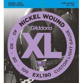 Daddario EXL190 Struny pro baskytaru