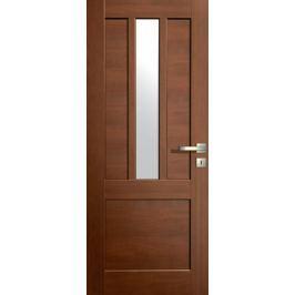 VASCO DOORS Interiérové dveře LISBONA kombinované, model 3, Ořech, A