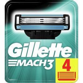 Gillette Mach3 holicí hlavice pro muže 4Ks
