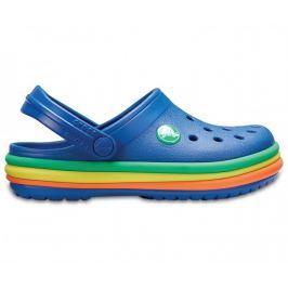 Crocs CB Rainbow Band Clog K Blue Jean 22,5