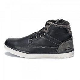 Tom Tailor pánská kotníčková obuv 44 černá