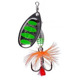 Savage Gear Třpytka Rotex Spinner Green Highlander 3